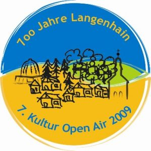 "Der Aktionsbutton ""700 Jahre Langenhain – 7. Kultur Open Air"""