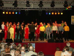 """""""der NEUE chor"""" (heute """"Ton in Ton"""") beim Konzert """"Ton ab"""" 2006"""