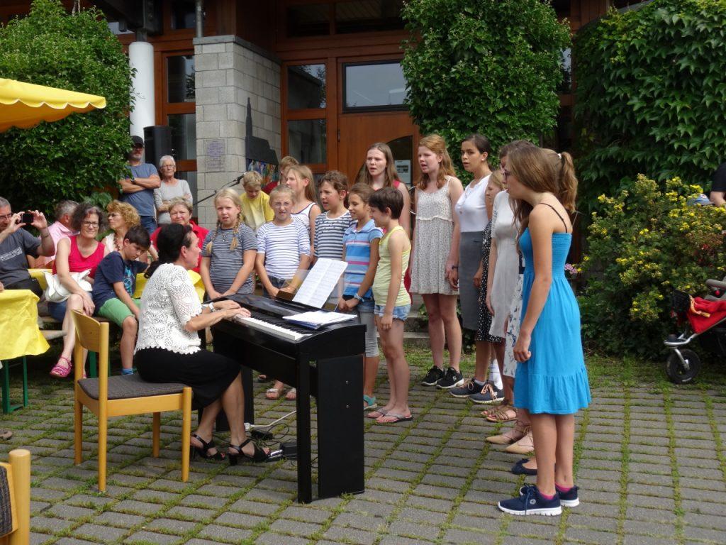 Gemeindefest in Langenhain