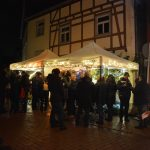 der Stand des GV beim Weihnachtsmarkt