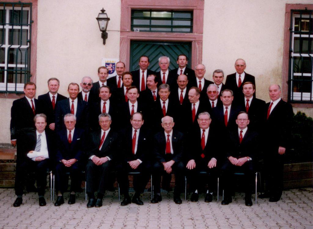 der Männerchor 1976