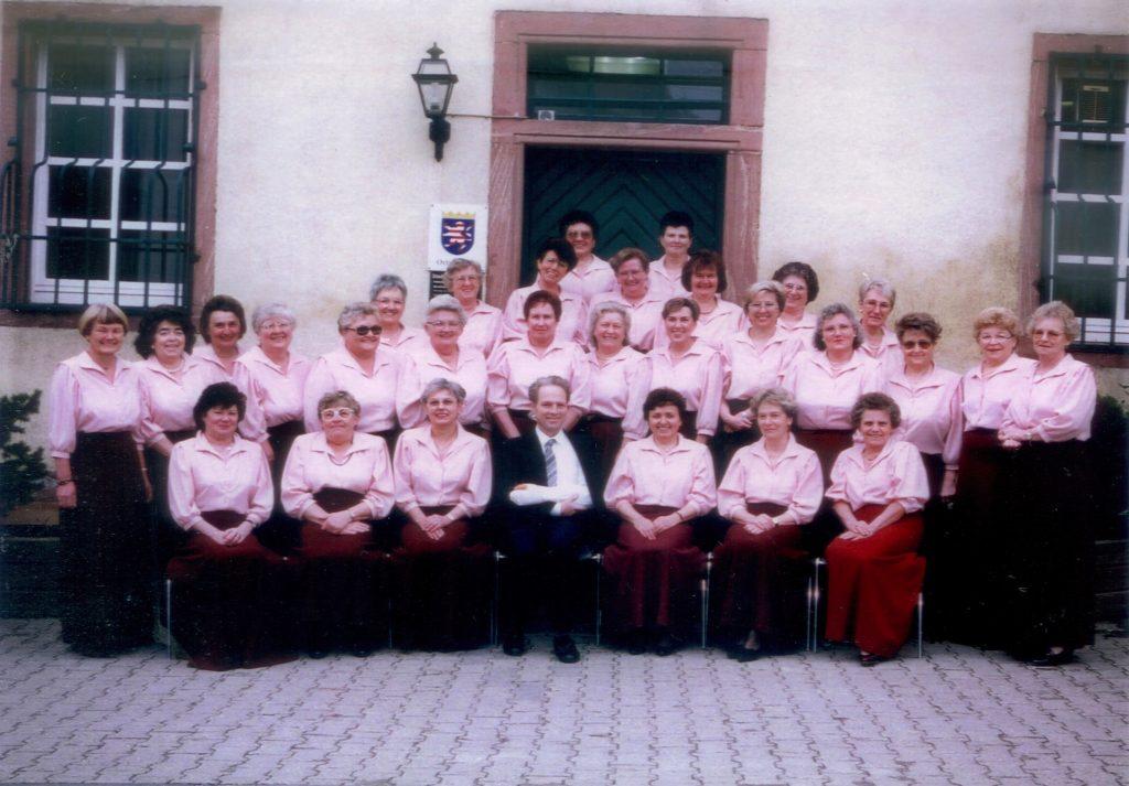 der Frauenchor 1976