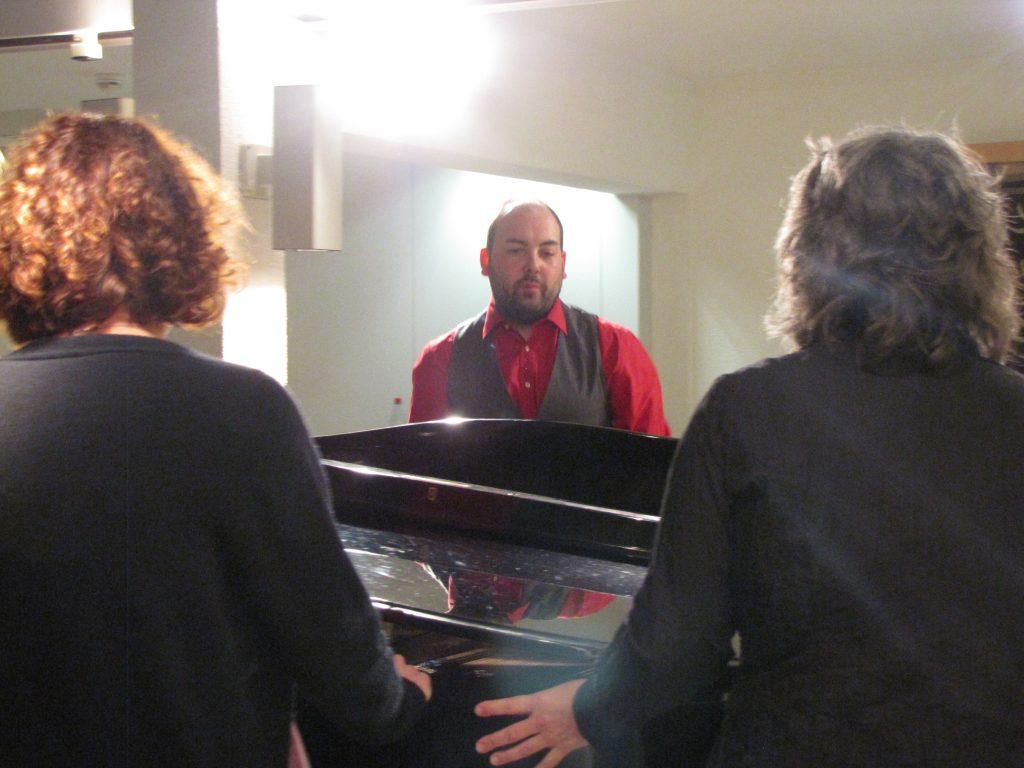 Klavier rücken